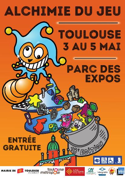 Festival Alchimie du jeu de Toulouse