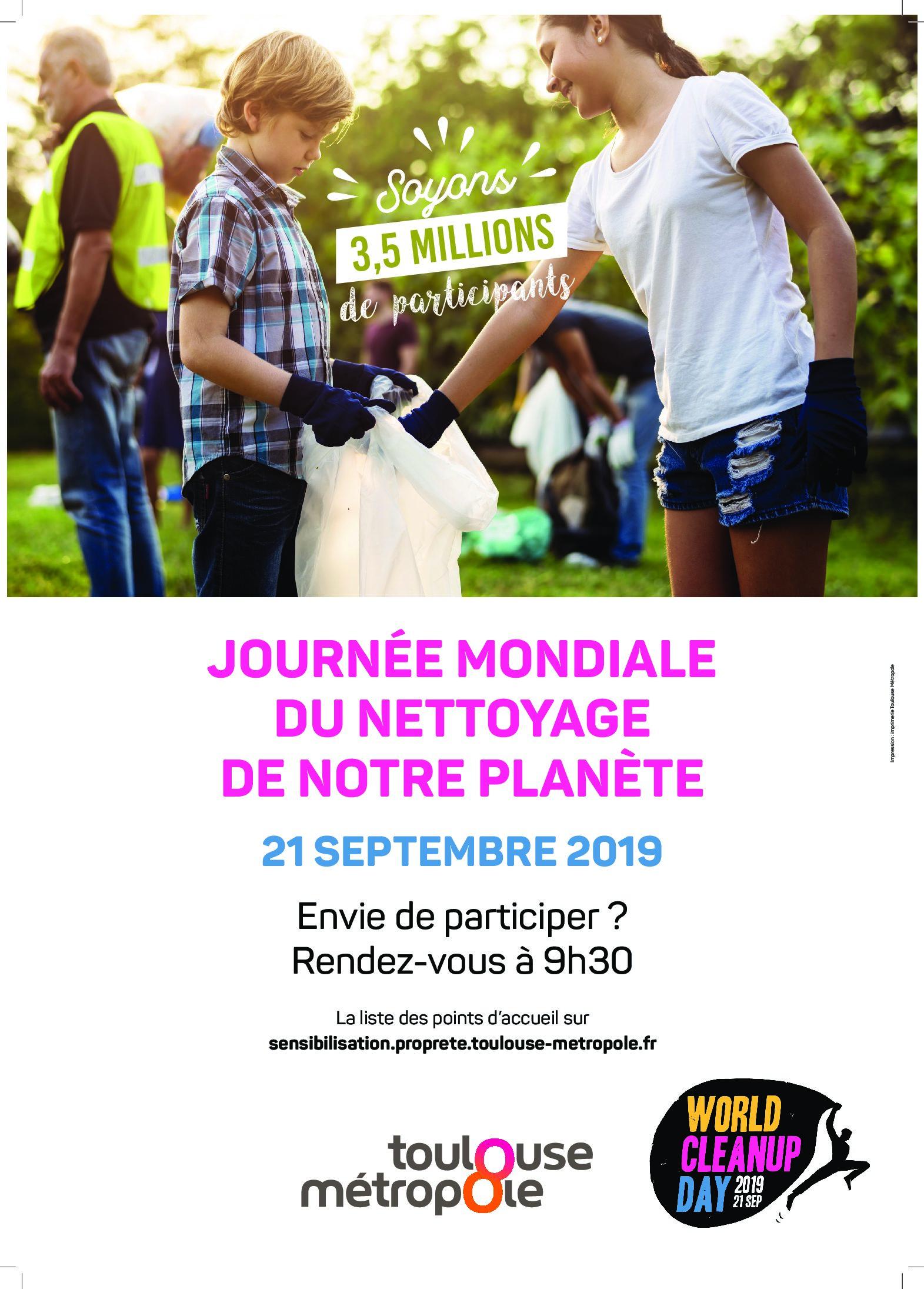 Journée Mondiale de Nettoyage Citoyen