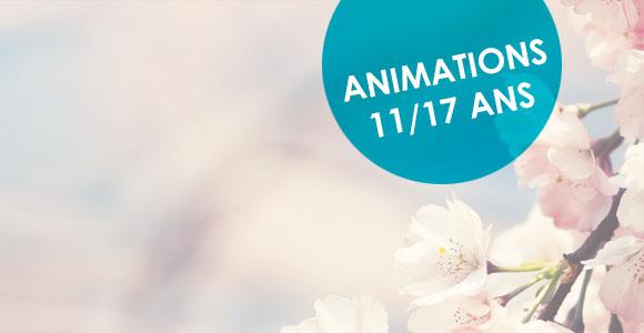 Vacances de printemps au Centre d'Animation Jeunesse